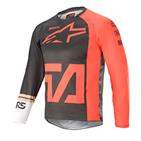 Alpinestars Youth Racer Compass 2021 Jersey Red Kid