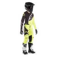 Alpinestars Youth Racer Factory Jersey 2019 Yellow Black Kinder