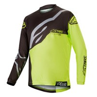 Alpinestars Youth Racer Factory Jersey 2019 Giallo Nero Bimbo