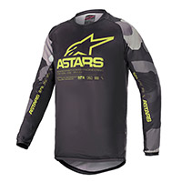 Alpinestars Youth Racer Tactical Jersey Yellow Kid