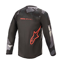 Alpinestars Youth Racer Tactical Jersey Red Kinder