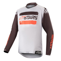 Alpinestars Youth Racer Tactical Jersey 2019 Black Gray Red Fluo Kinder