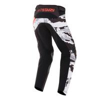 Alpinestars Youth Racer Tactical Pants 2019 Nero Grigio Rosso Fluo Bimbo