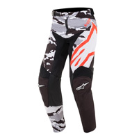 Alpinestars Youth Racer Tactical Pants 2019 Black Gray Red Fluo Kid