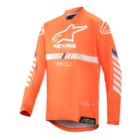 Alpinestars Youth Racer Tech 2020 Jersey Orange Kinder