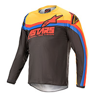 Alpinestars Youth Racer Venom 2021 Jersey Black Kinder