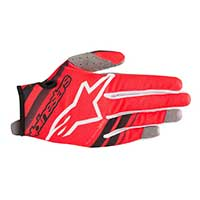 Alpinestars Youth Radar Glove Rosso Bimbo