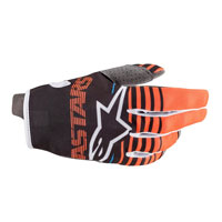 Alpinestars Youth Radar 2020 Gloves Orange Black Kinder