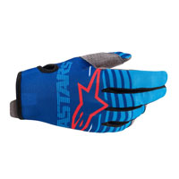 Alpinestars Youth Radar 2020 Gloves Blue Kinder