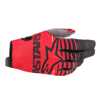Alpinestars Youth Radar 2020 Gloves Red Black Kinder