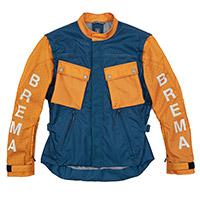 Brema Trofeo 4tc Perforated Jacket Blue Orange