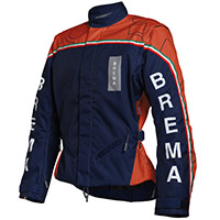 Blouson Brema Trofeo 2 Navy Orange