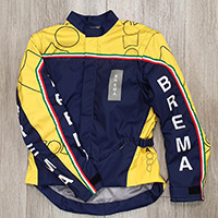 Giacca Brema Trofeo 2 Blu Navy Giallo