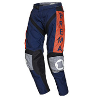 Brema Trofeo 2 Pants Navy Orange