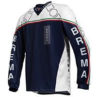 Maglia Cross Brema Trofeo 2 Sw Navy Bianco