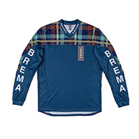 Camiseta Brema Trofeo Checkered SW azul
