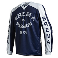 Maglia Cross Brema Trofeo Bmd R Sw Navy Bianco