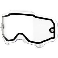 100% Armega Dual Clear Lens