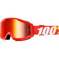 100% Strata Furnace Rosso Lente Specchiata Rossa