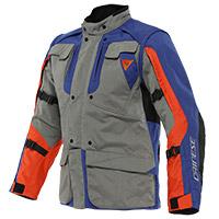 Dainese Alligator Tex Jacket Grey Blue Orange