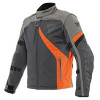Dainese Ranch Tex Jacket Grey Orange