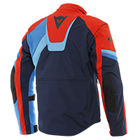 Dainese Ranch Tex Jacket Blue Red