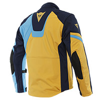 Dainese Ranch Tex Jacket Mineral Yellow Light Blue