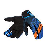 Eleveit X Legend Gloves Blue Orange