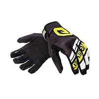 Eleveit X Legend Gloves Black White Yellow