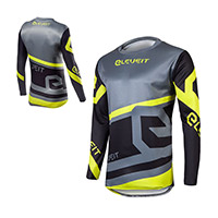 Eleveit X Legend Jersey Grey Black Yellow