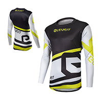 Eleveit X Legend Jersey Black White Yellow
