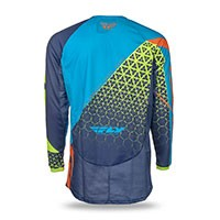 Fly Kinetic Maglia Trifecta Blu
