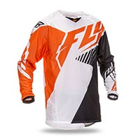 Fly Kinetic Jersey Vector Orange
