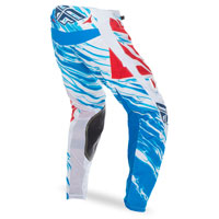 Pantalon Fly Kinetic Relapse Blanc Bleu