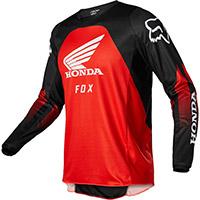 Maglia Fox 180 Honda Nero Rosso