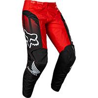 Pantaloni Fox 180 Honda Nero Rosso
