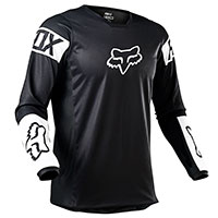 Fox 180 Revn Jersey Black White