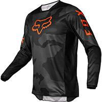 Fox 180 Trev Jersey Black Camo