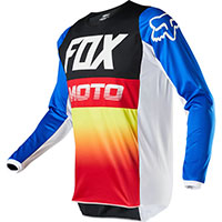 Fox 180 Fyce Mx Jersey Blue Red
