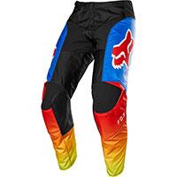 Pantaloni Mx Fox 180 Fyce Blu Rosso