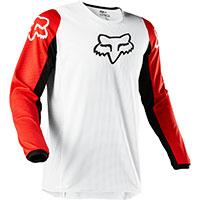 Fox 180 Prix Mx Jersey White Black Red