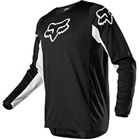 Fox 180 Prix Mx Jersey Black White