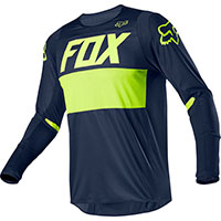 Maglia Mx Fox 360 Bann Blu Navy