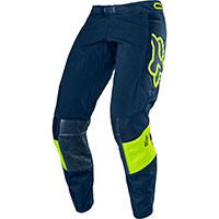 Pantaloni Mx Fox 360 Bann Blu