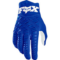 Guanti Mx Fox 360 Blu