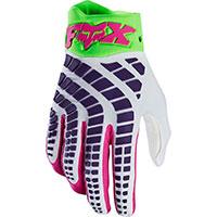 Fox 360 Mx Gloves Multicolor