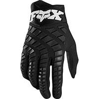 Fox 360 Mx Gloves Black