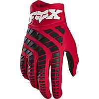 Guanti Mx Fox 360 Rosso