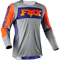 Fox 360 Linc Mx Jersey Gray Orange
