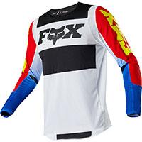 Maglia Mx Fox 360 Linc Blu Rosso